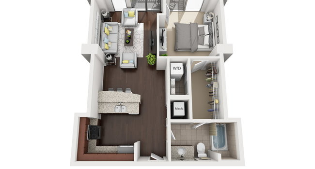 Image Of Catalyst Apartments In Charlotte Nc