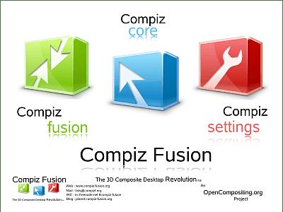 Compiz Fusion Logo