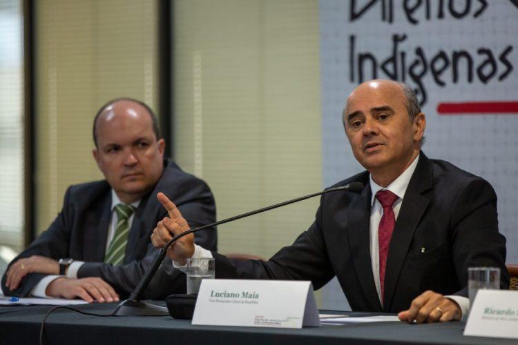 Luciano Maia, Vice-Procurador-Geral da República, durante sua presentação defendeu a autonomia dos povo indígenas. Foto: Tiago Miotto/Cimi
