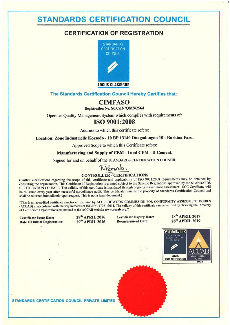 ISO 9001: système de management de la qualité