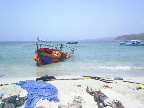 Bodies of Asyluam Seekers Washed Ashore in Yemen