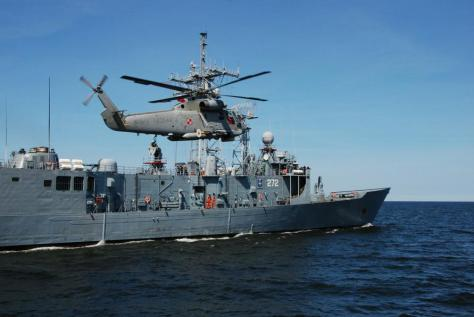 A competition is underway for the honor of landing on the Polish fleet's decks.