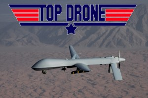 Unlike Maverick, drones will never have to go through motorcycle safety training.