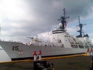 BRP Gregorio del Pilar, a Hamilton class US Coast Guard-Weather High Endurance Cutter.