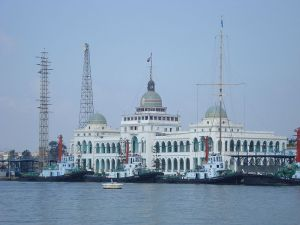 Suez Canal Authority HQ in Ismailia, Egypt