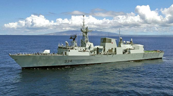 Preparing for the RCN's Future: Platform Growth and Naval Vessels