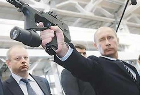 In Russia… President Assassinate You! Photo Credit: Funny or Die