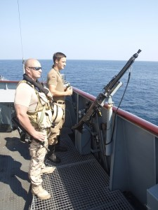 An Estonian VPD off Somalia