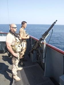 An Estonian VPD off Somalia