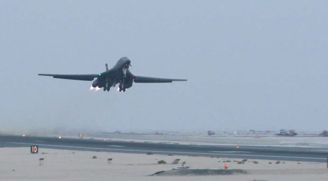 B-1s Continue to Prove Worth Over Iraq