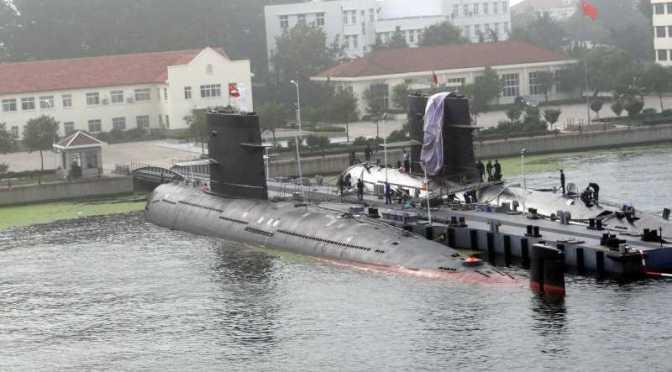 Chinese Submarines Taste Indian Ocean