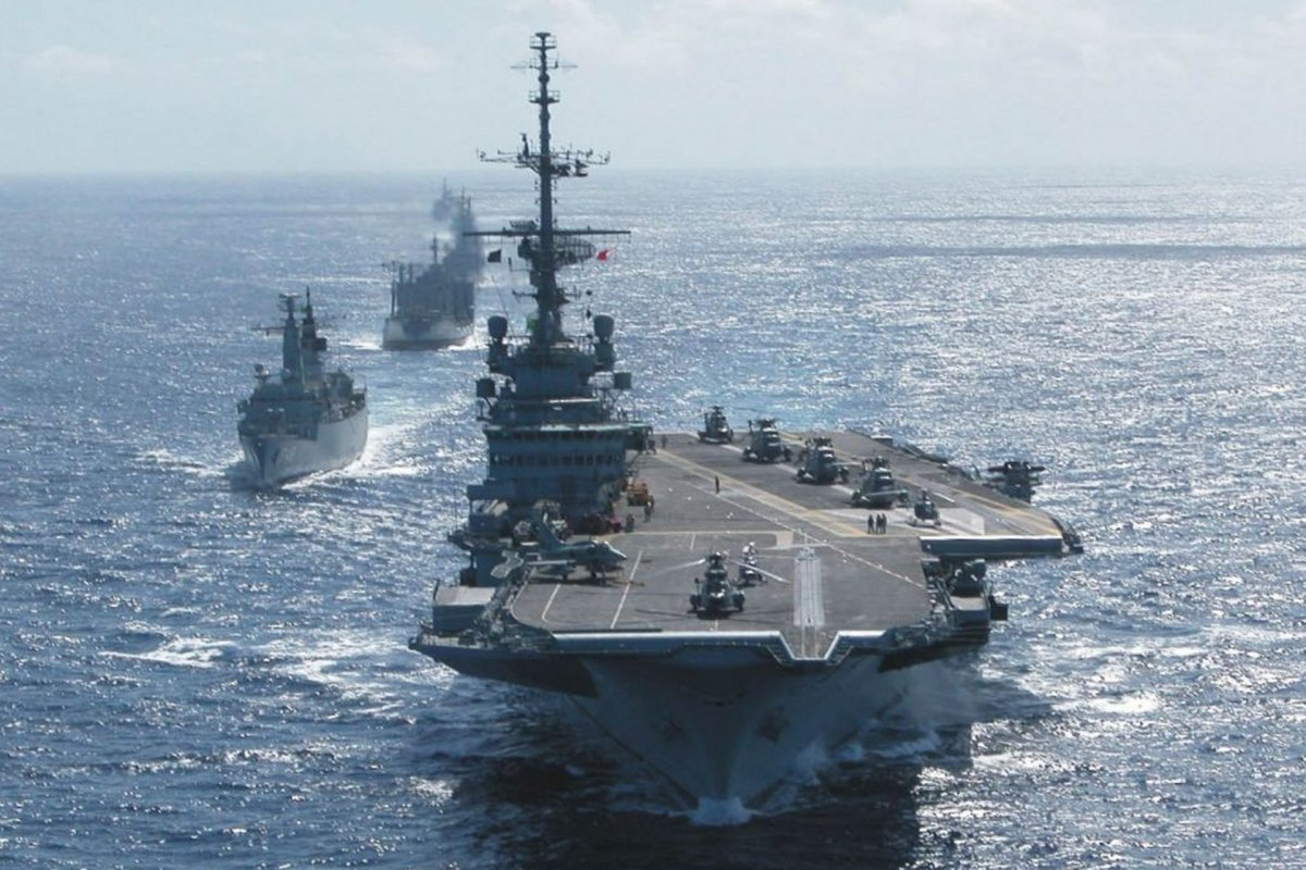 The Brazilian Navy: Green Water or Blue? | Center for International  Maritime Security