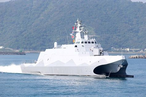 Tuo Jiang class missile corvette deployed by Taiwan could become major threat for PLAN's aircraft carriers. Image Credit: CC BY-SA 4.0 Larry41028/Wikimedia Commons.