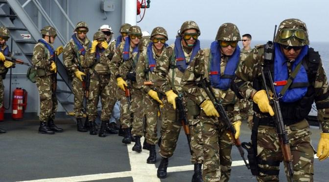 The Rapid Growth of the Algerian Navy