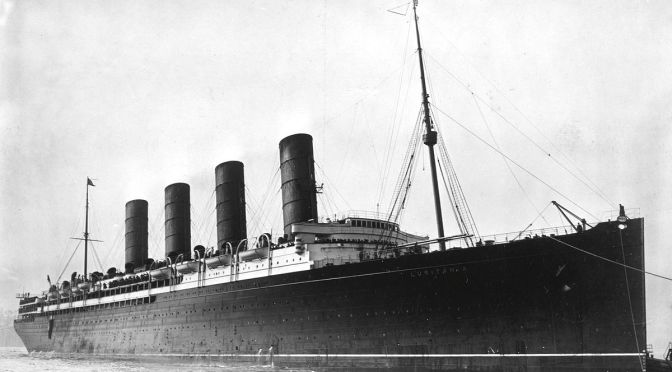 The Sinking of the Lusitania — One Hundred Years Later
