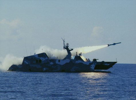 Long range anti-ship missiles contribute to an essential element of China's deterrence.