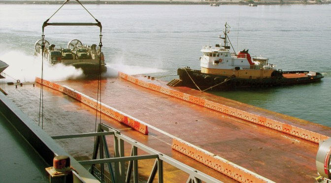 Weaponized Hovercraft for Distributed Lethality