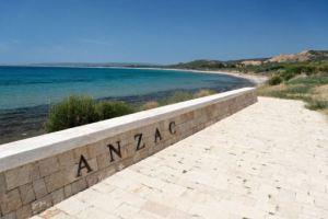 A modern view of ANZAC cove