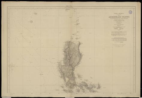 Spanish colonial era map of the Philippines, including Bajo de Masinloc / Scarborough Shoal. Kindly provided by Dr David Manzano Cosano, Escuela de Estudios Hispano-Americanos (CSIC; Spanish National Research Council)