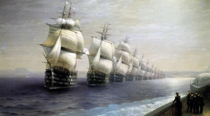 Russian & Soviet Fleets, 25 Years Apart