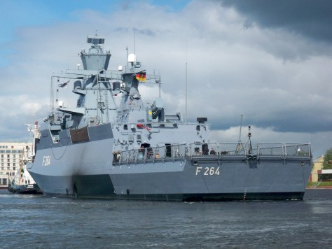 The corvette Ludwigshafen am Rhein is currently part of Germany's contribution to EU NAVFOR MED. Germany's naval missions can sometimes be as complicated as its ship-naming policy.