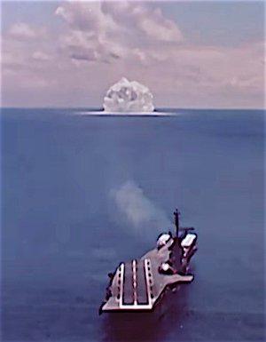 ASROC nuclear test.