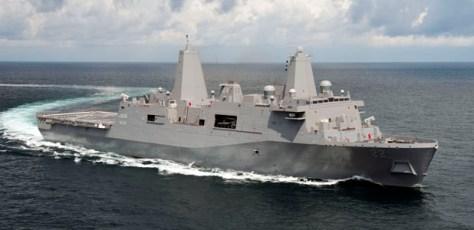LPD 22 Sea Trials