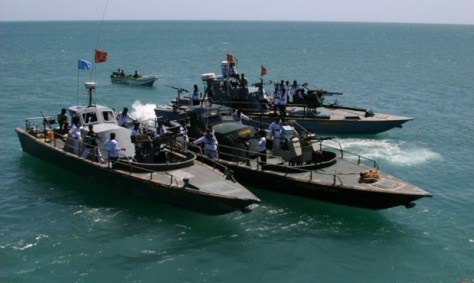 Small vessels employed by the Sea Tigers.