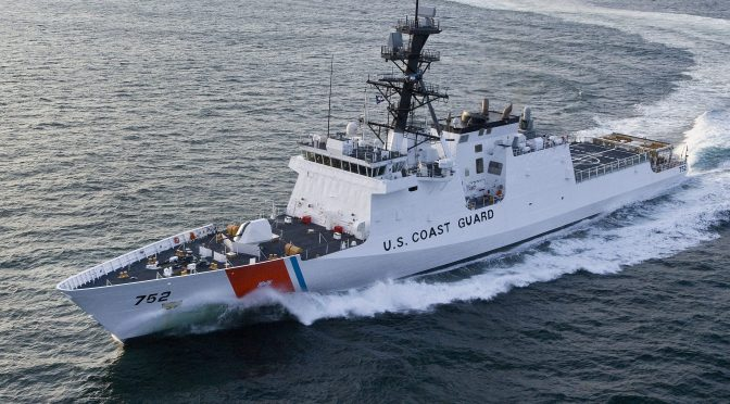 U.S. Coast Guard at Sea: Aging Today With Visions Of Tomorrow