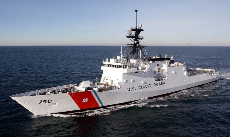 USCG National Security Cutter BERTHOLF (USCG Photo)