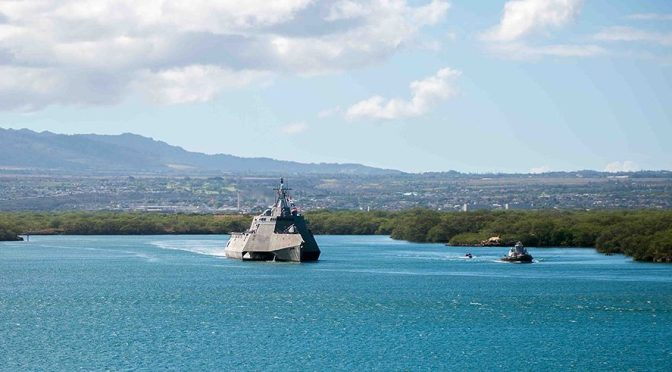 Don't Give Up on the Littoral Combat Ship
