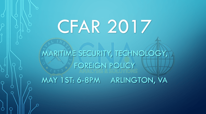 CFAR 2017: And the Speakers Are….