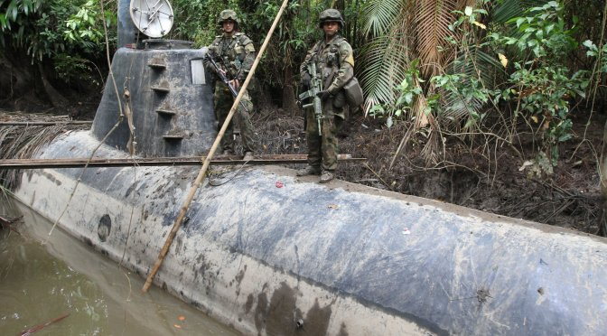 Narco Submarines: A Problem That Will Not Sink