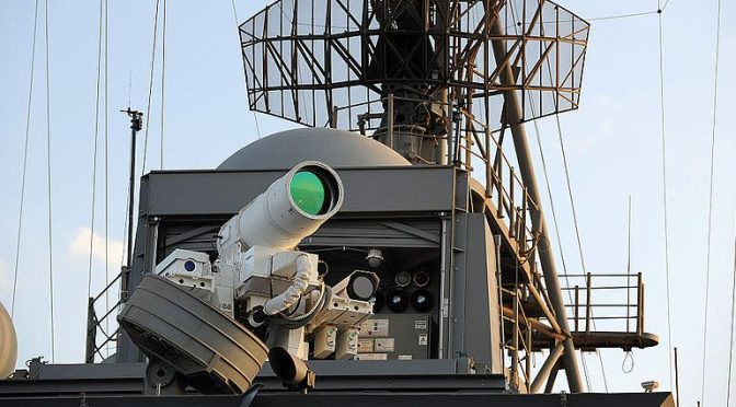 Dynamite at the Speed of Light: How Directed Energy Can Transform the U.S. Navy