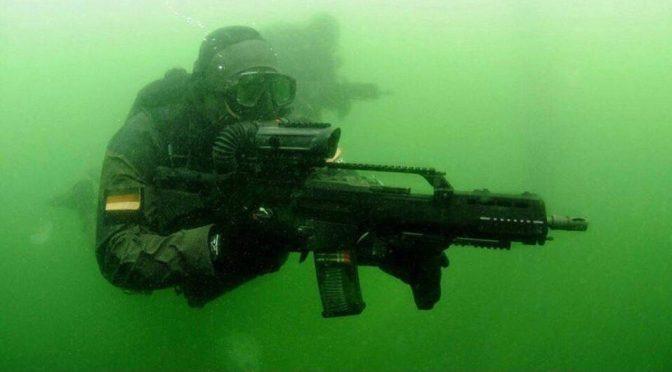 Little Men in Black: The Frogman Threat in Maritime Hybrid Warfare