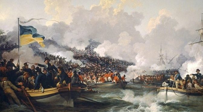 British Amphibious Operations in Egypt, 1801: A JP 3-02 Perspective, Pt. 1