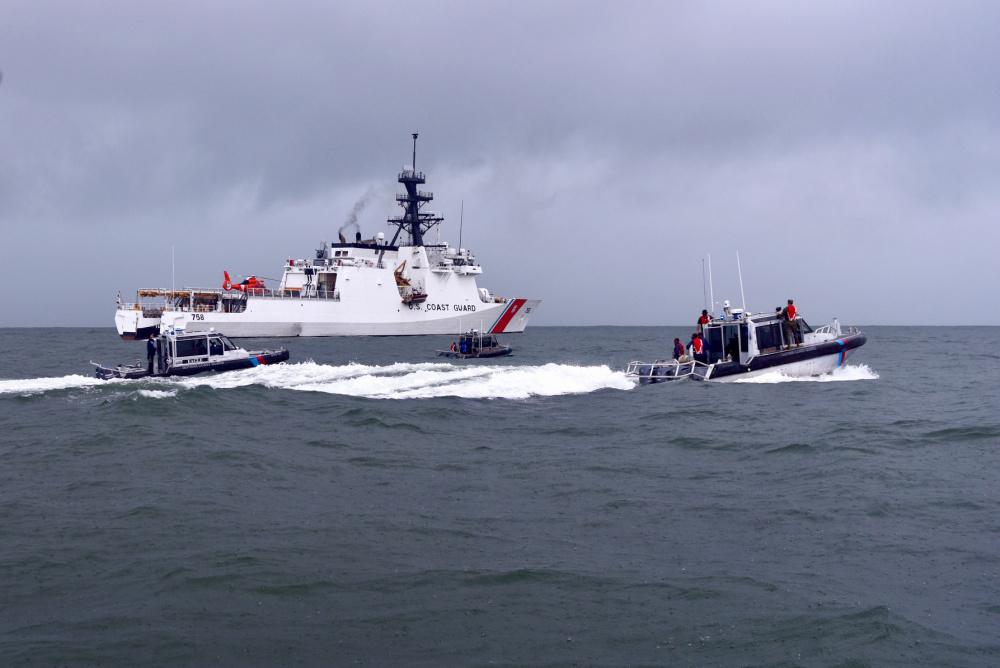 Friends from Afar: U.S. and South Korea Coast Guards Help South America Combat IUU Fishing