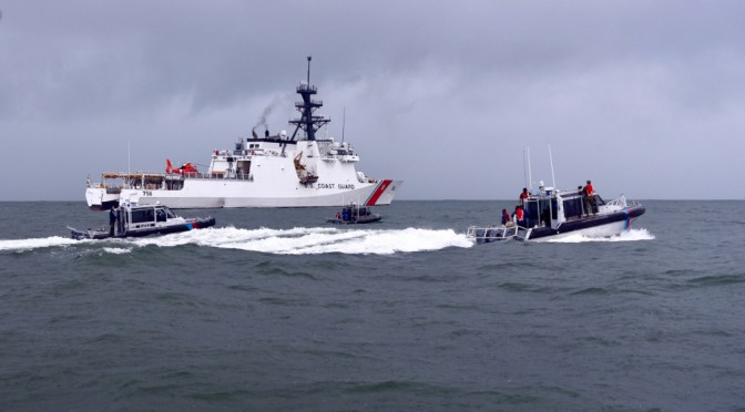 Friends from Afar: U.S. and South Korea Coast Guards Help South America Combat IUU Fishing
