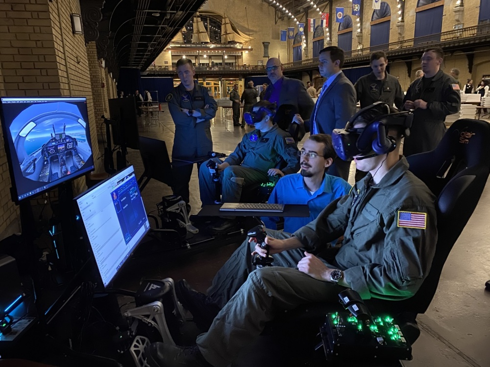 Virtual Training: Preparing Future Naval Officers for 21st Century Warfare