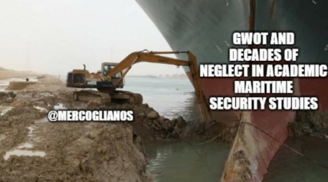 Sea Control 240 – Ever Given: The Ship That Launched 1,000 Memes with Dr. Sal Mercogliano