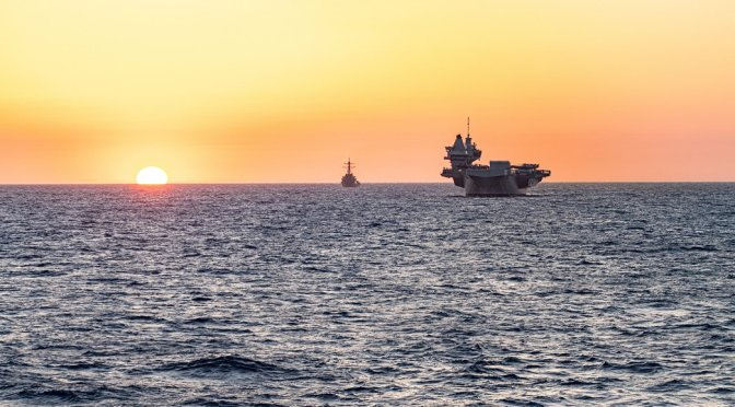 U.K. Carrier Capability Returns To The Indo-Pacific