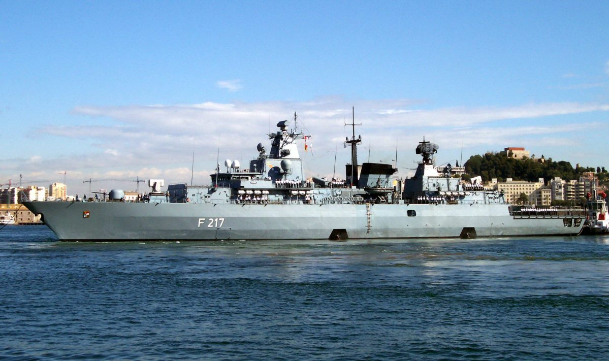 Frigate Bayern in the Pacific: The Return of German Gunboat Diplomacy?