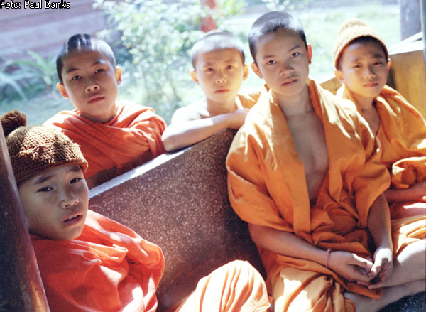 Chinese monk kids