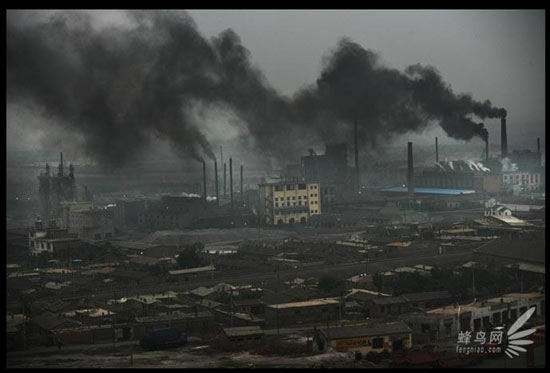 Inquinamento in Cina