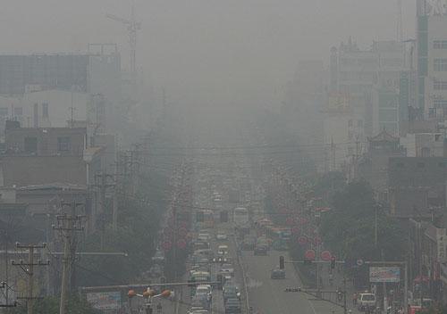 linfen-città cinesi più inquinate