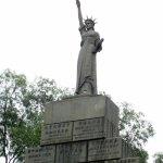 La statua della libertà a Canton