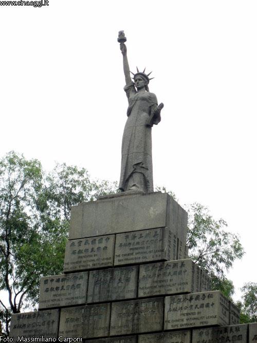 statua della libertà a Canton