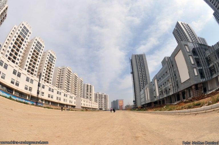 città fantasma cinesi