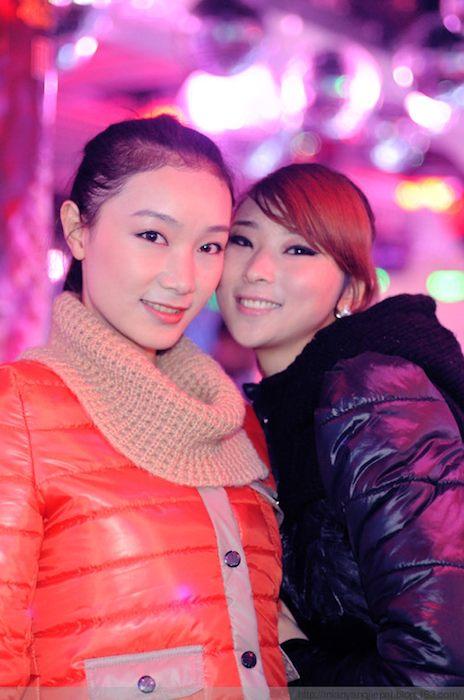 look dei giovani cinesi