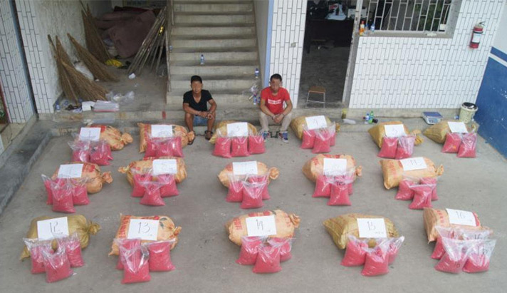narcotraffico in Cina